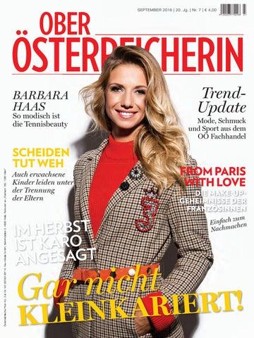Oberösterreicherin September 2018 By Bundesländerinnen Issuu
