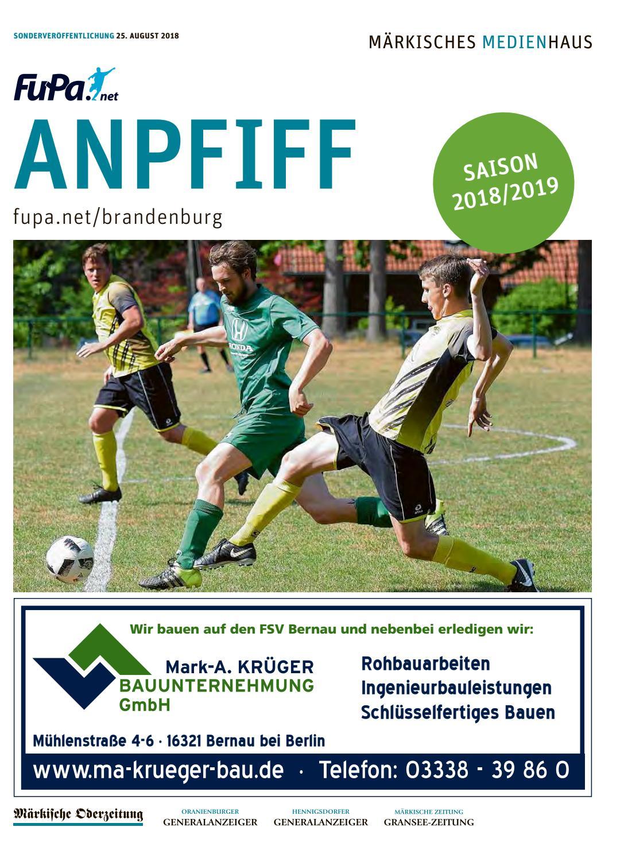 Anpfiff Oberhavel_Barnim 25.08.2018 by Märkische Onlinezeitung - issuu