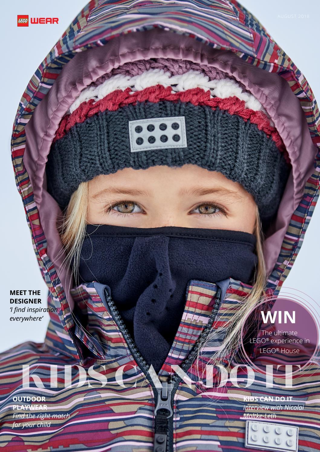 LEGO Wear Kids /& Baby Little Girls Tec Waterproof /& Windproof Fleece-Lined Snow//Ski Jacket W//Digital Lego Pattern