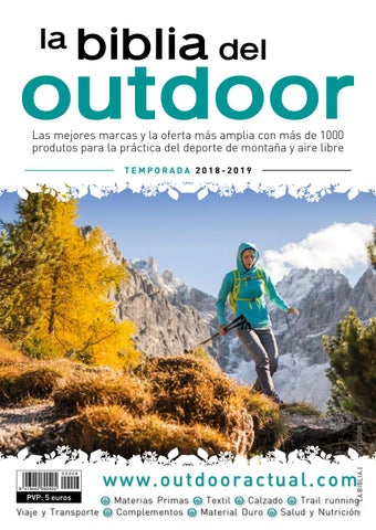 huge discount e0a01 a93c2 La Biblia del Outdoor 2018-19 by Outdoor Actual - issuu