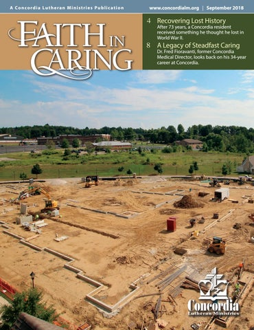 Faith In Caring September 2018 By Concordia Lutheran Ministries Issuu