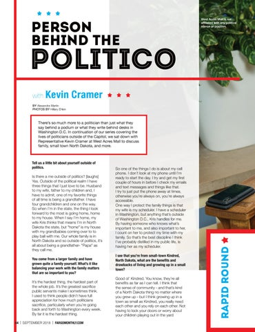 Page 46 of Person Behind the Politico with Kevin Cramer