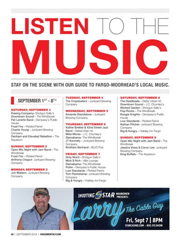 Page 66 of September Live Music
