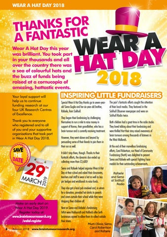 Page 8 of Wear A Hat Day 2018