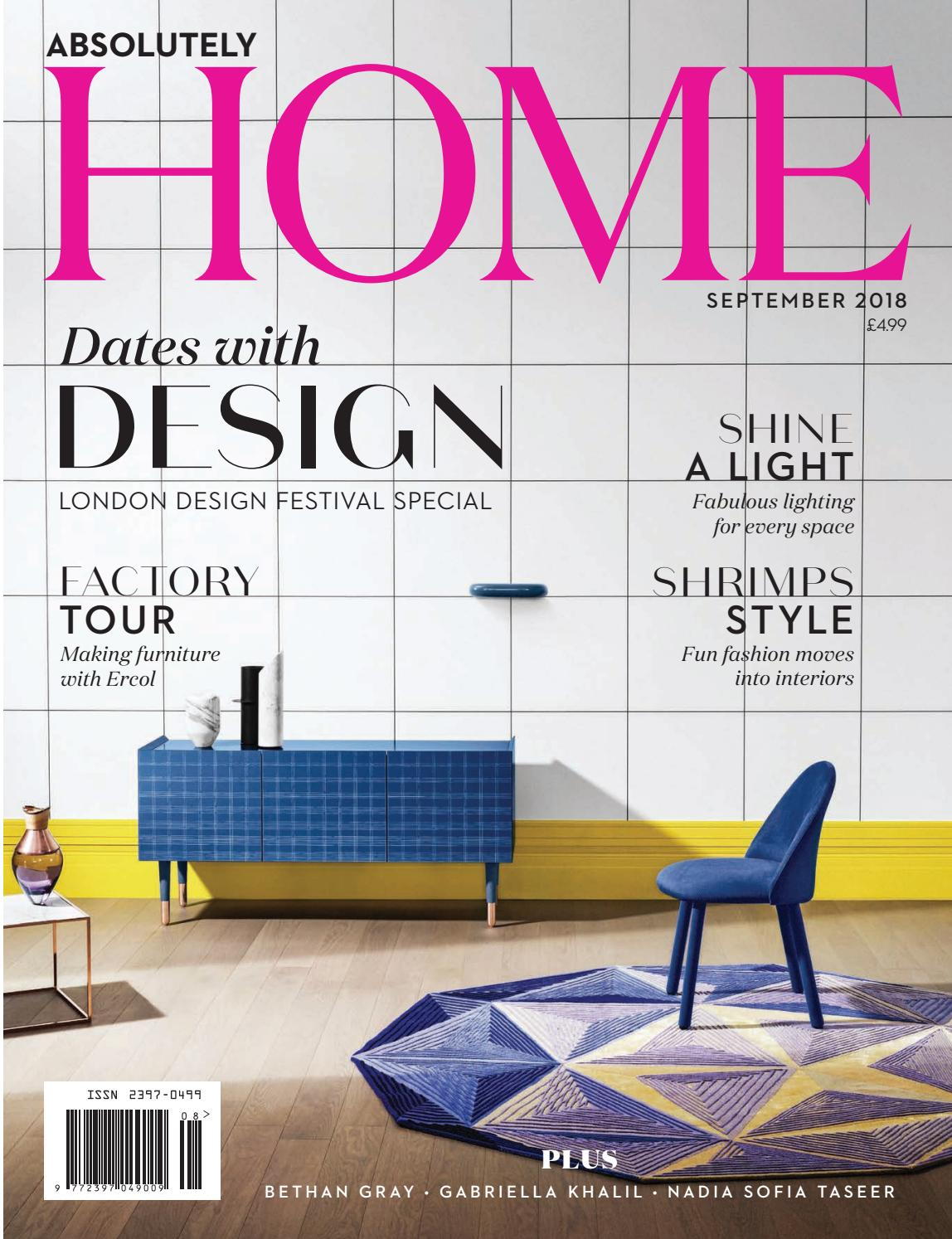 94ae594a4d25 Absolutely Home Magazine September 2018 by Zest Media London - issuu