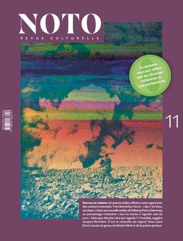 Noto 11 By Noto Revue Issuu