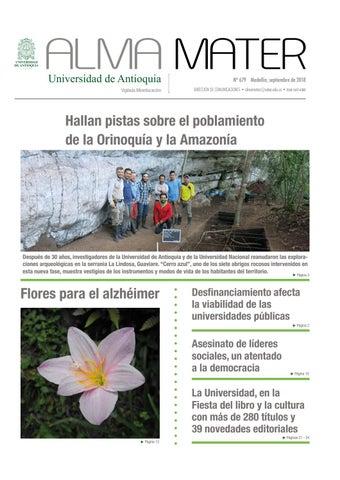 Alma Mater 679 By Universidad De Antioquia Issuu
