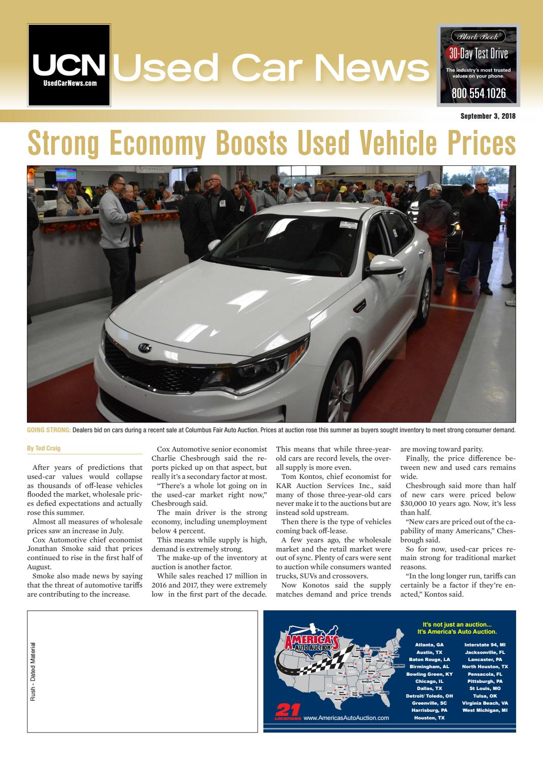 Used Car Dealerships In Lancaster Pa >> Used Car News 09 03 2018 By Used Car News Issuu