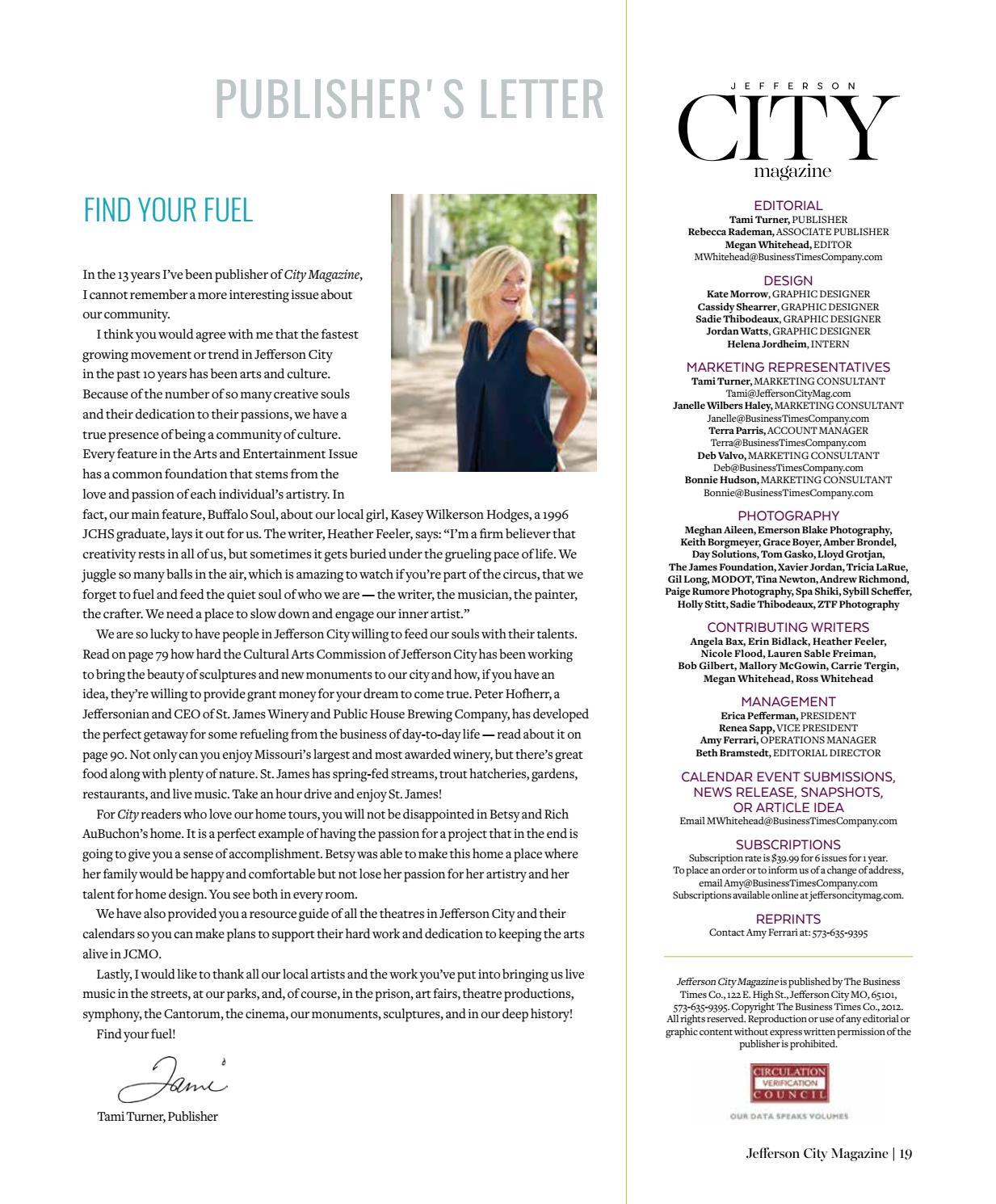 Jefferson City Magazine - September October 2018 by Business