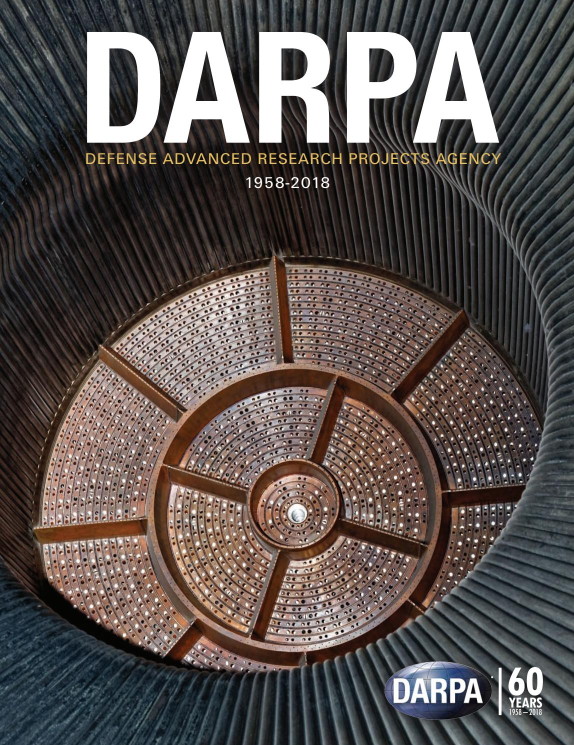 15319fbe0aba DARPA  Defense Advanced Research Projects Agency 1958-2018 by Faircount  Media Group - issuu