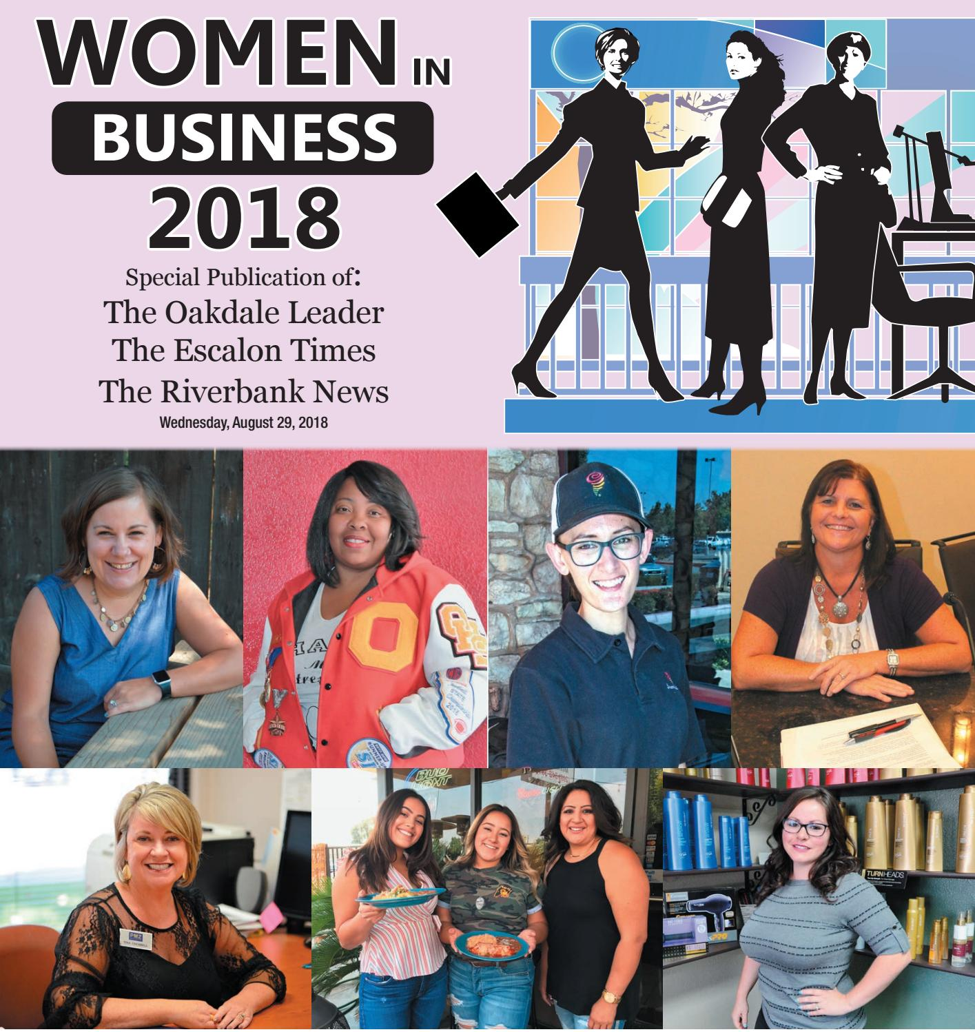Women In Business 2018 by Manteca Bulletin - issuu