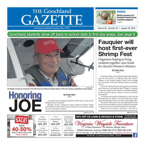3592cb2db7f The Goochland Gazette – 08 30 2018 by Goochland Gazette - issuu