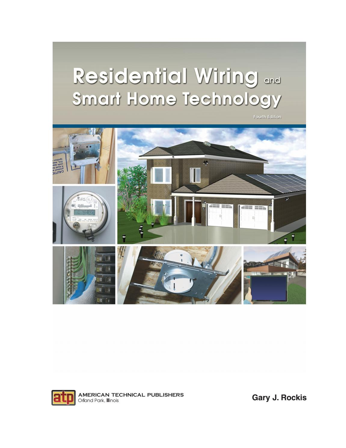 smart home wiring residential wiring and smart home technology by american technical smart home wiring diagram pdf residential wiring and smart home