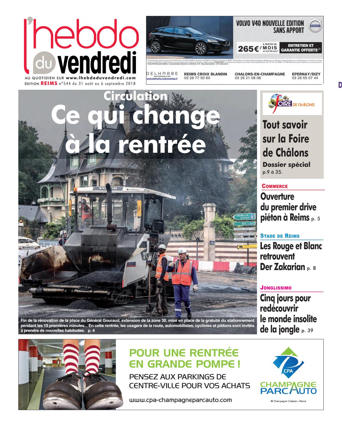 Lhebdo Du Vendredi Reims 544 By Kilkoa Issuu