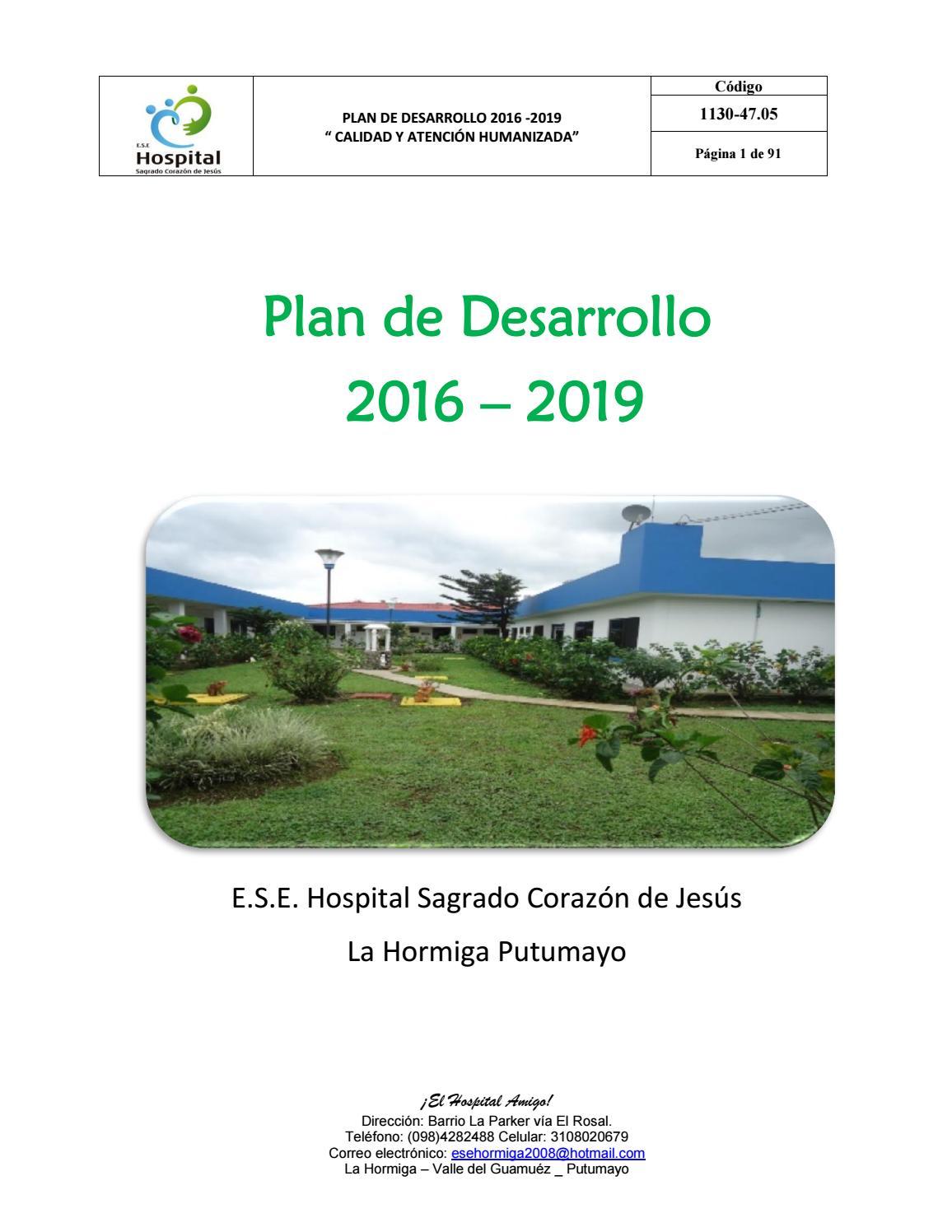 Plan De Desarrollo By Jhon Edinson Arboleda Issuu