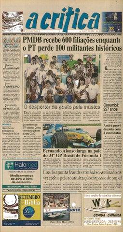 05099d18ab Jornal A Critica - Edição 1249- 25 09 2005 by JORNAL A CRITICA - issuu