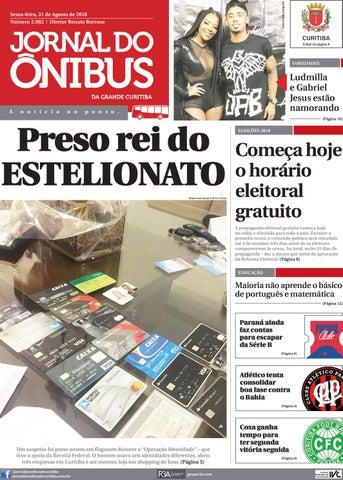Jornal do Ônibus de Curitiba - 31 08 18 by Editora Correio ... 365a0c9e22a69