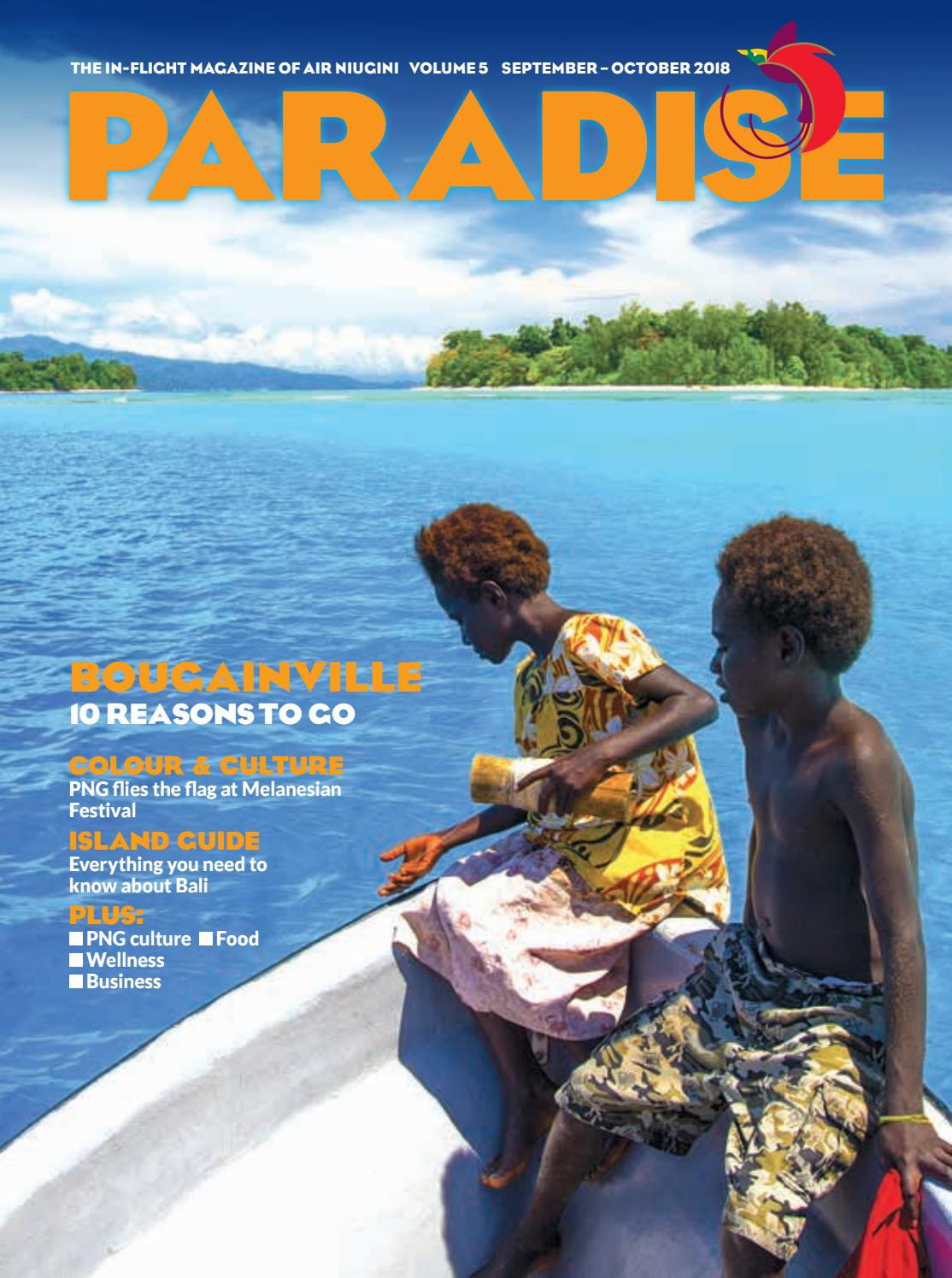 Paradise: the in-flight magazine of Air Niugini, September