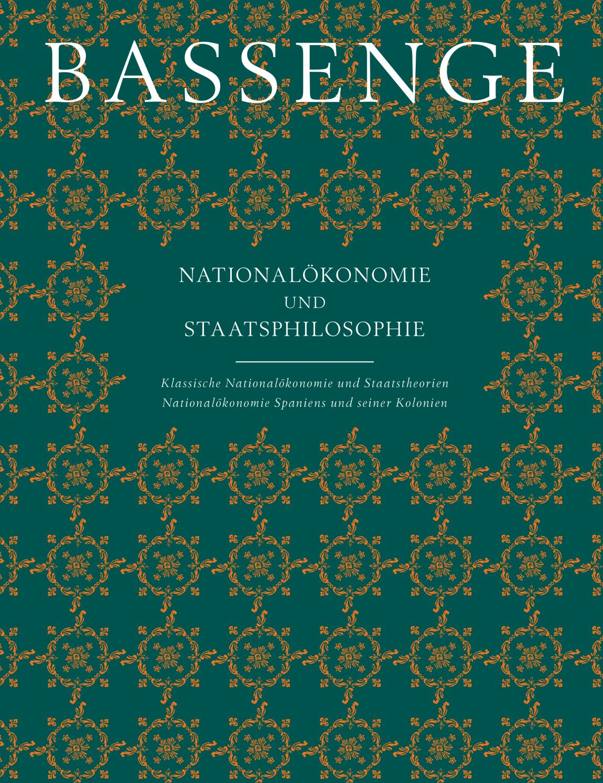ed3ebbad84e010 Bassenge Buchauktion 112  Nationalökonomie und Staatsphilosophie by Galerie  Bassenge - issuu