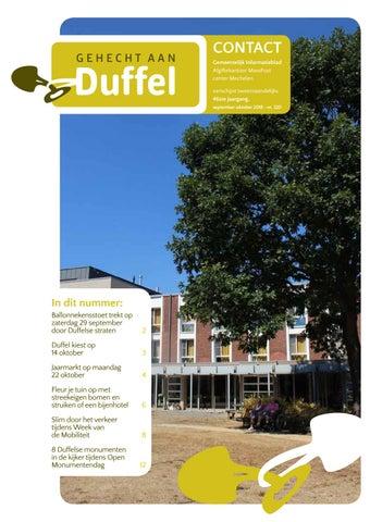 fc20500c04b Contact 2018 nummer 5 (september oktober) by Gemeente Duffel - issuu