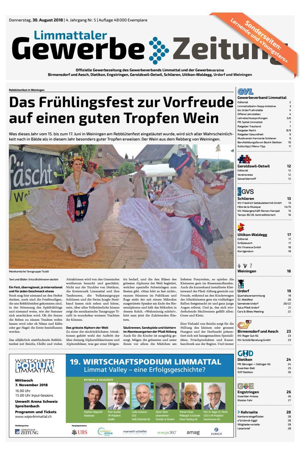 Dietikon Online: Anlsse - Stadt Dietikon
