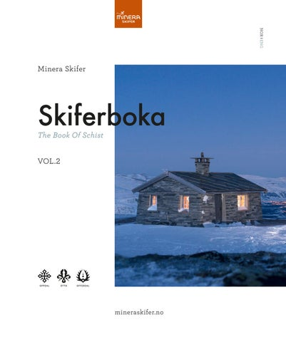 Skiferboka - The book of schist by Minera Skifer AS - issuu 22df4ee58f234