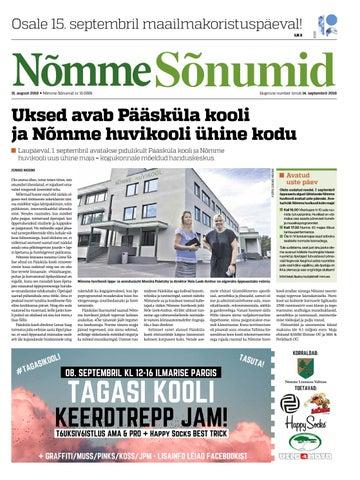 05d734f0d6e Nõmme Sõnumid nr 15 (2018) by Nõmme linnaosa - issuu