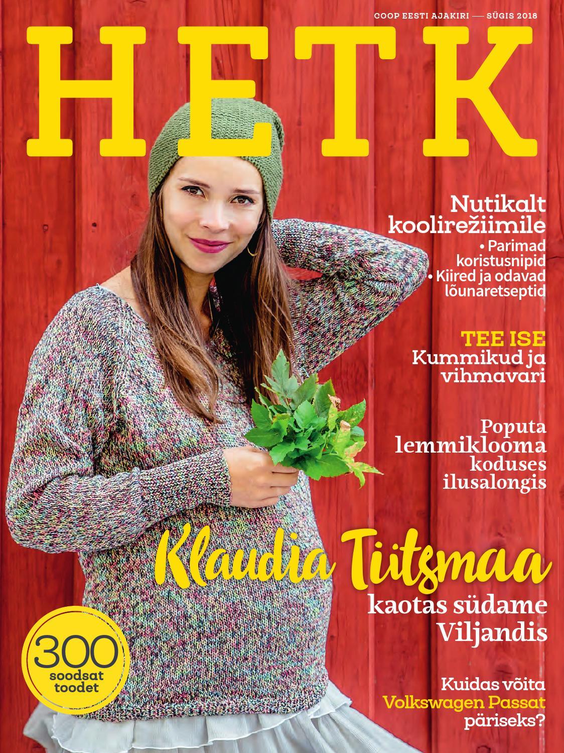 63947c7833b Coop kliendiajakiri Hetk sügis 2018 by Coop Eesti - issuu