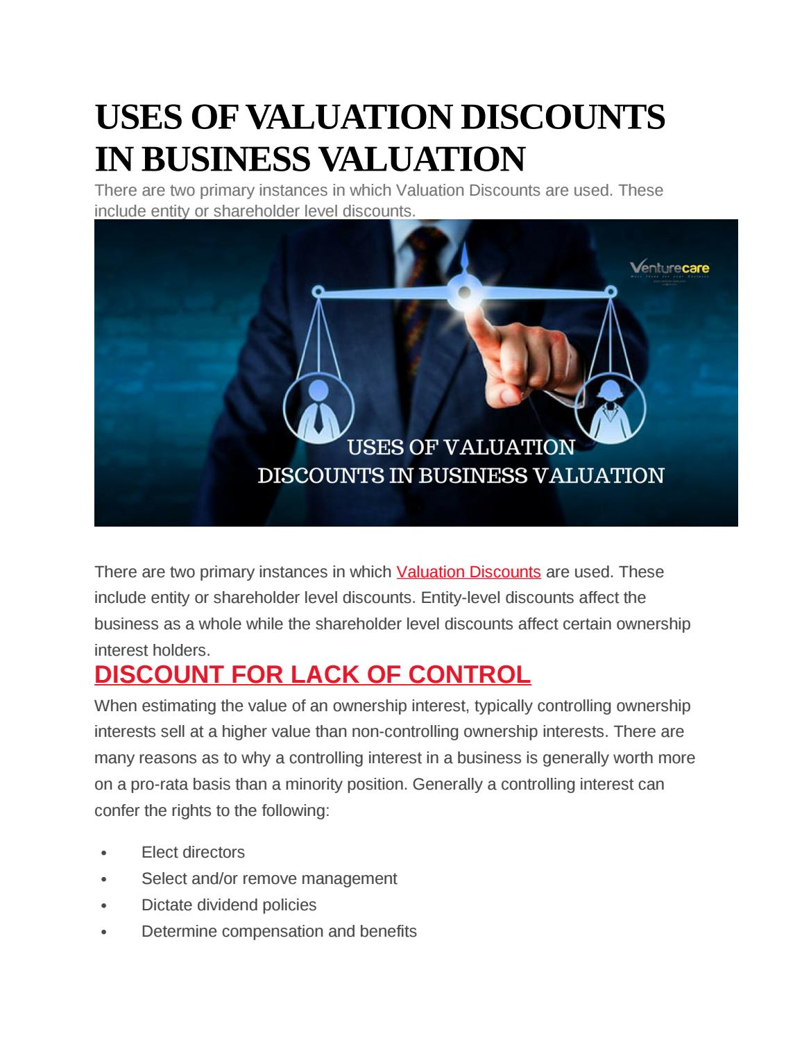 Business Valuation Companies In India Business Valuation Method Consultant By Suchita Gat Issuu