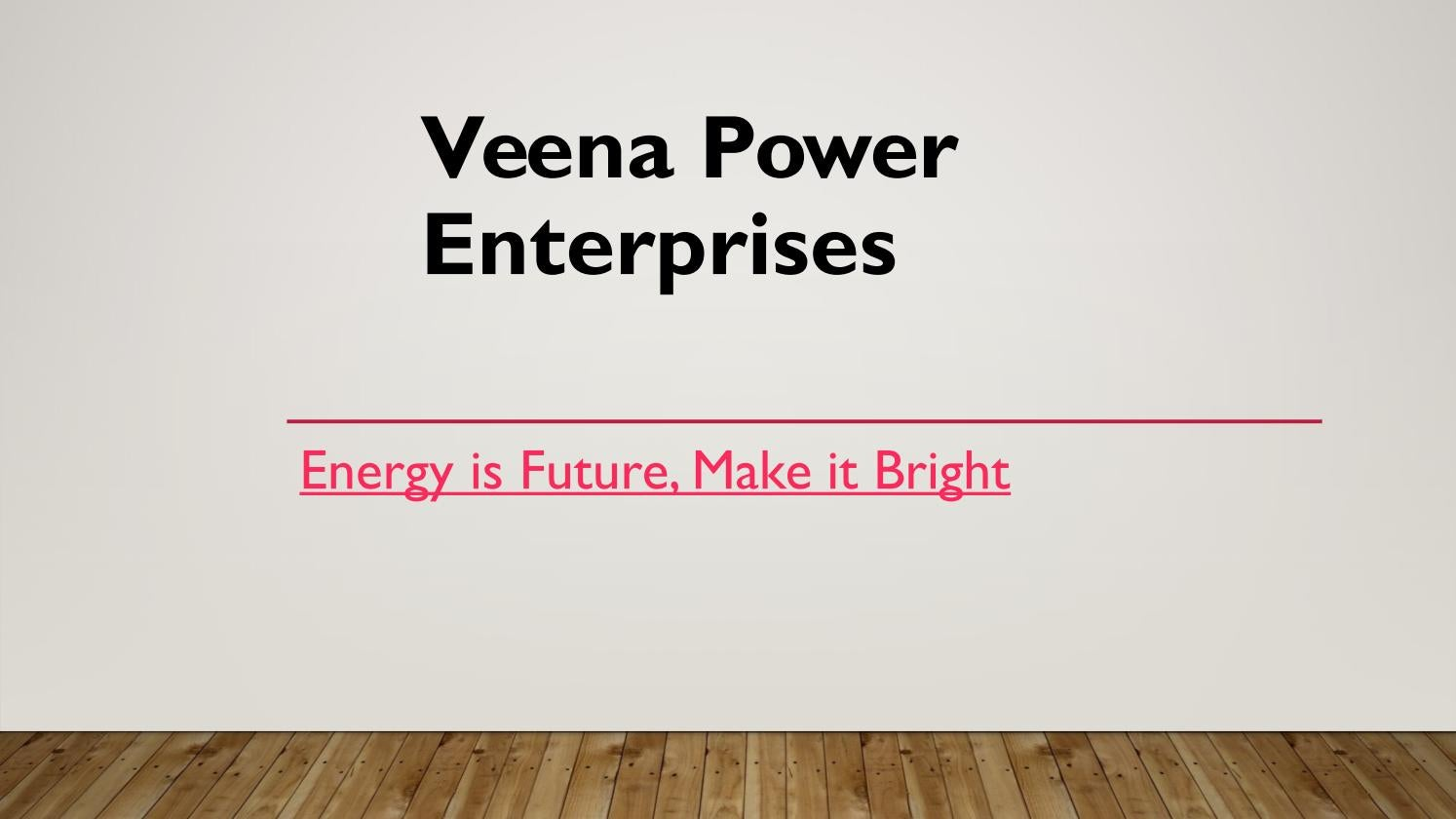 Best Solar Panels in India - Veena Power Enterprises by