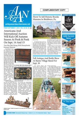 119087bb9 Antiques   Auction News 090718 by Antiques   Auction News - issuu