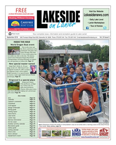 Lakeside On Lanier September 2018 By Lakeside On Lanier Issuu