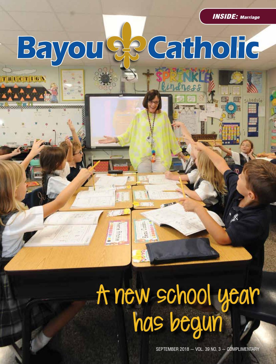 Bayou Catholic Magazine September 2018