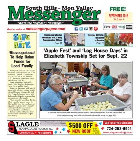 cfbb4c6b649 South Hills Mon Valley Messenger September 2018 by South Hills Mon ...