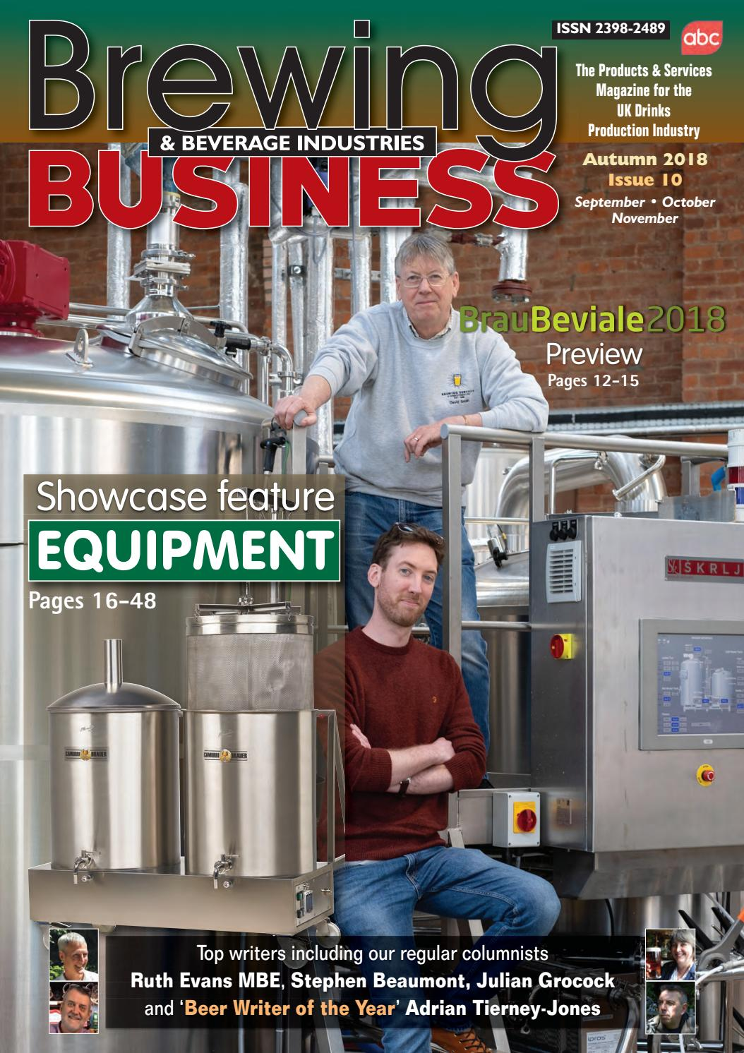 Brewing & Beverage Industries Business, issue 10 by Brewing & Beverage  Industries Business - issuu