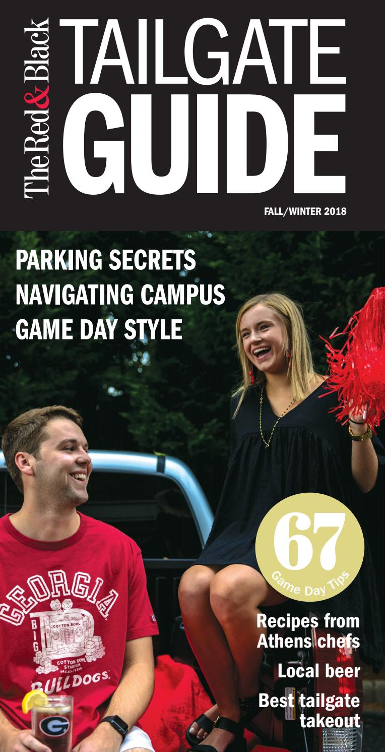 Tailgate Guide 2018 by The Red & Black - issuu