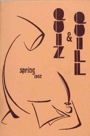 Quiz and Quill 1962 by Otterbein University - issuu