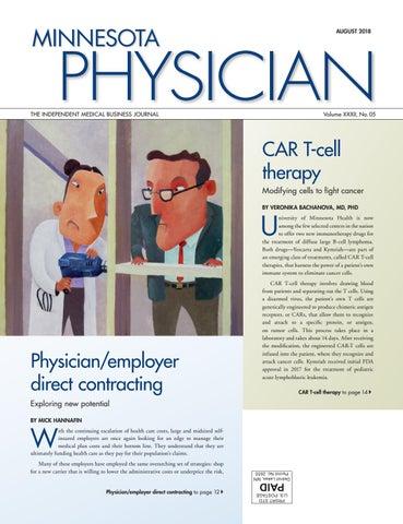 Minnesota Physician August 2018 by Minnesota Physician Publishing