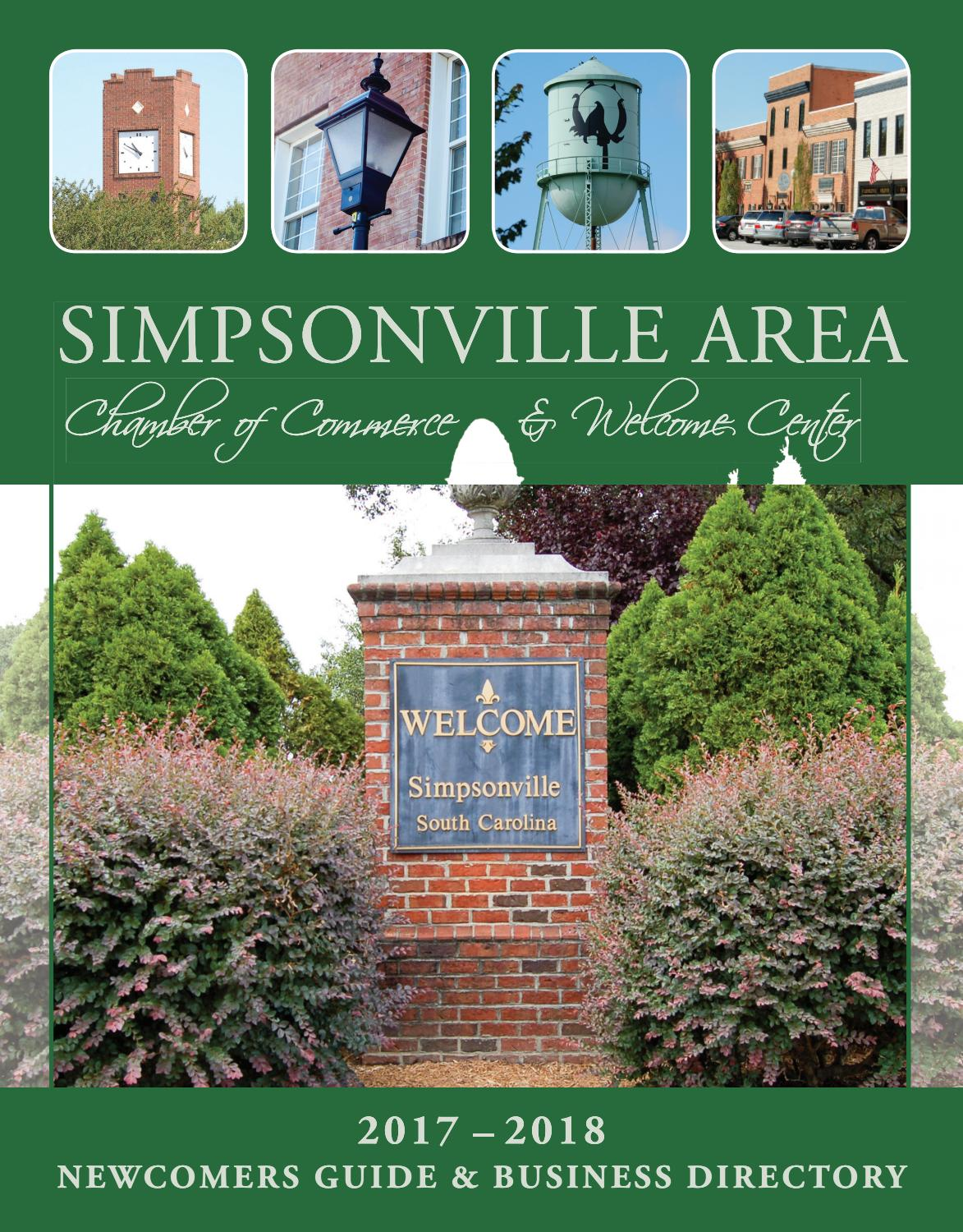 Simpsonville SC Community Profile 2018 by Town Square