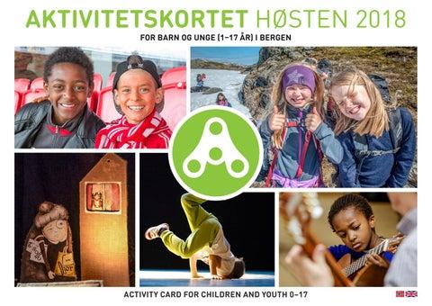 d9b306842 Aktivitetskortet Bergen Høsten 2018 Norsk/Engelsk by Lasse Totland ...