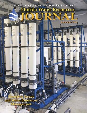 Florida Water Resources Journal - September 2018