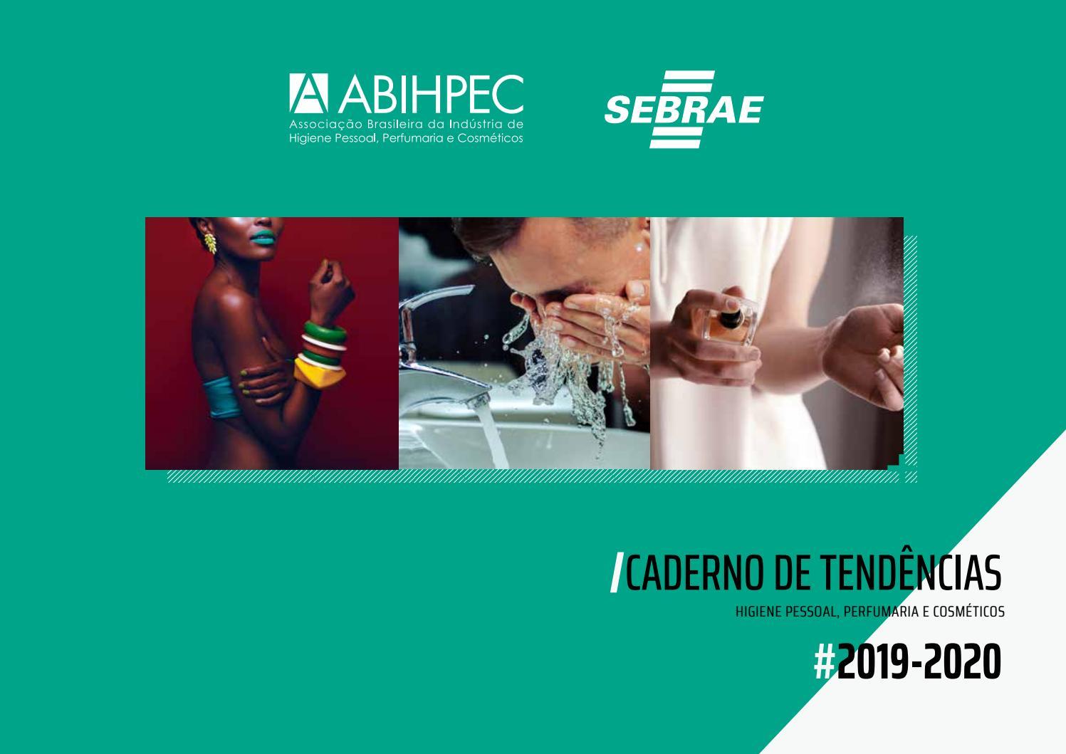 Caderno de Tendências HPPC 2019 2020 - ABIHPEC e Sebrae by ABIHPEC - issuu b5e18f2cb5