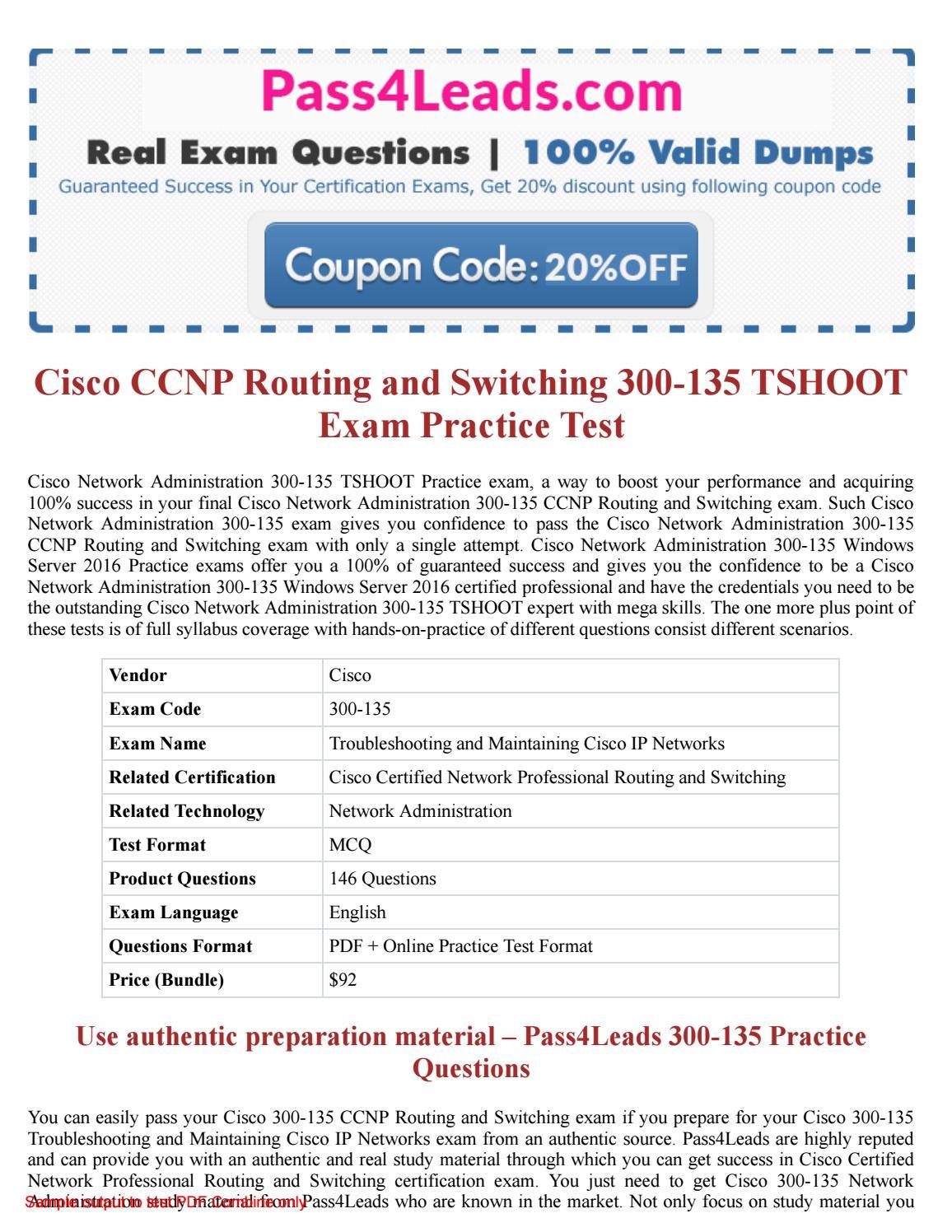 Practical pdf switching ccnp studies