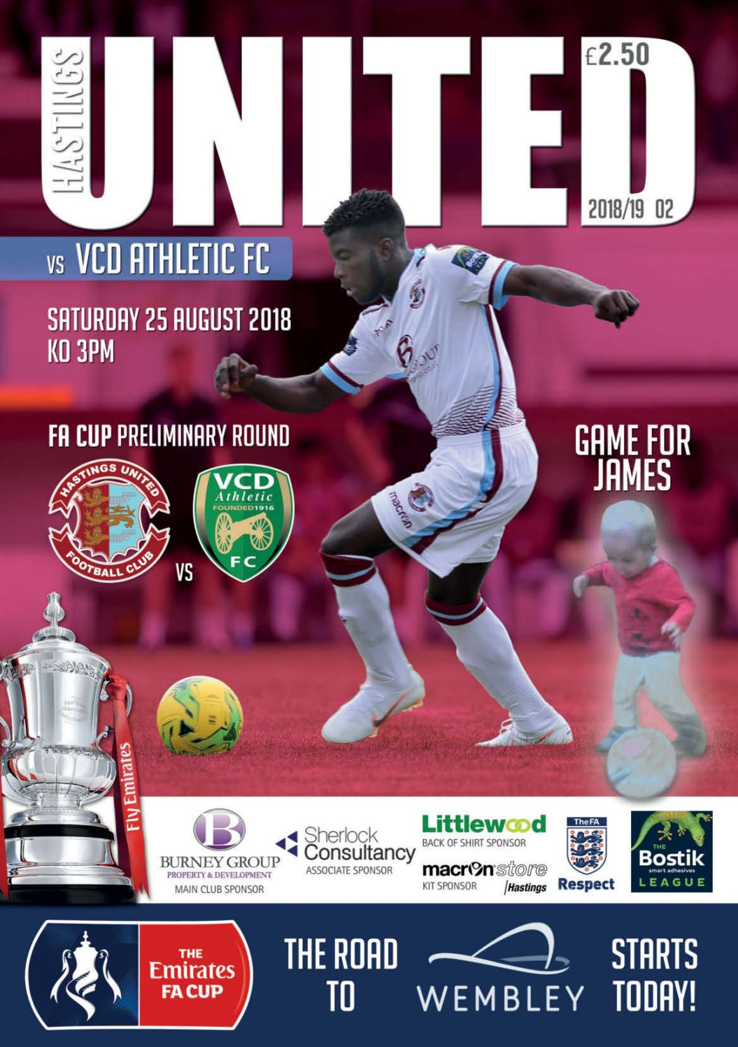 1b7ea9b8d17 HUFC vs VCD Athletic FC by HUFC Programmes - issuu
