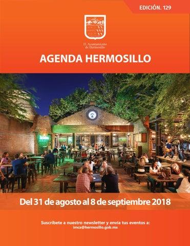 """Cover of """"Agenda Hermosillo #129"""""""