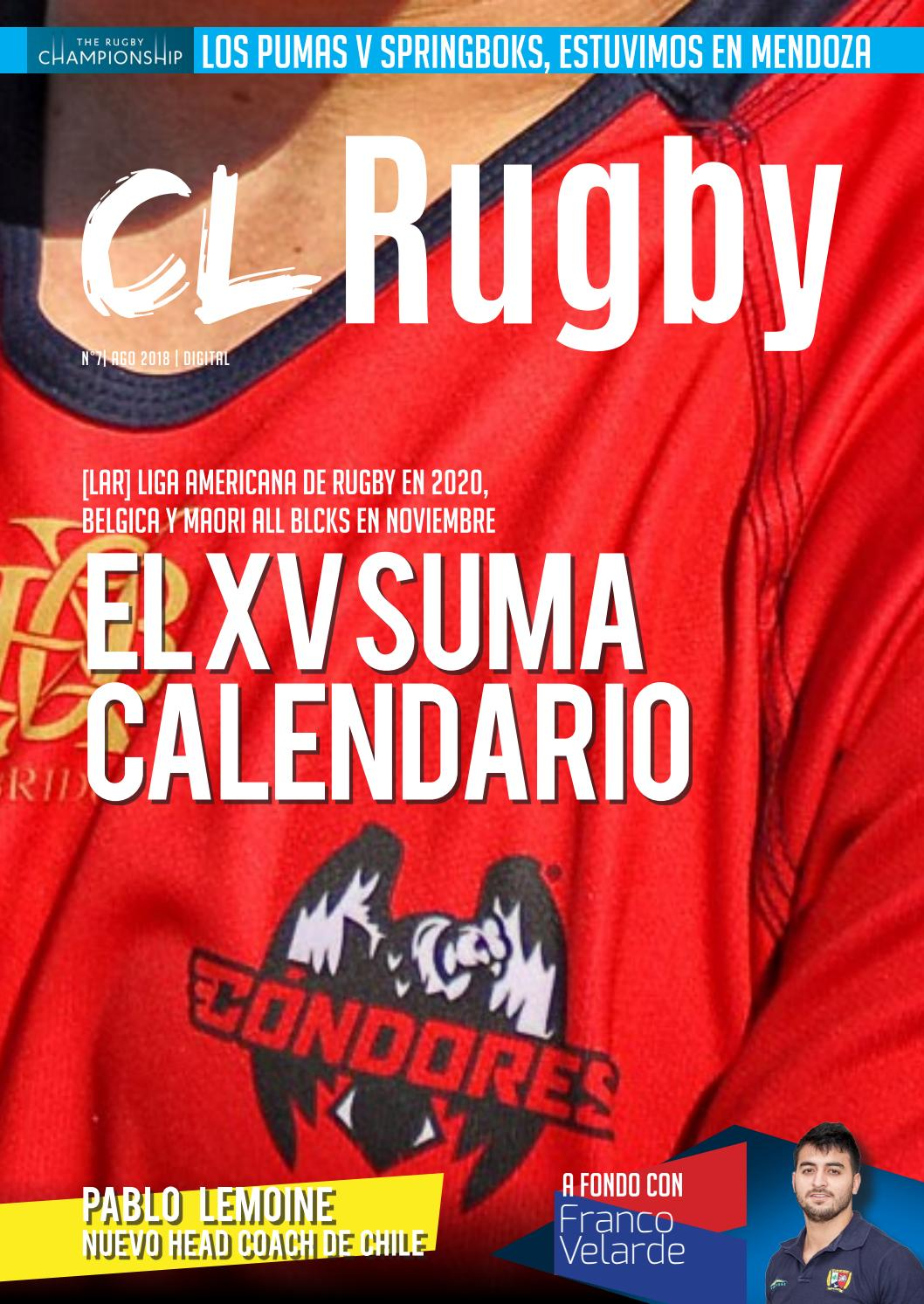 Rugby Championship 2020 Calendario.Revista Cl Rugby 007 By Rugbynoticias Chile Issuu