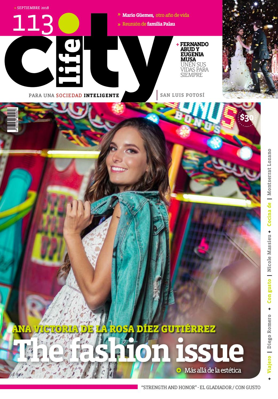 San Septiembre Revista Issuu By City Luis 2018 kTilwOXZuP