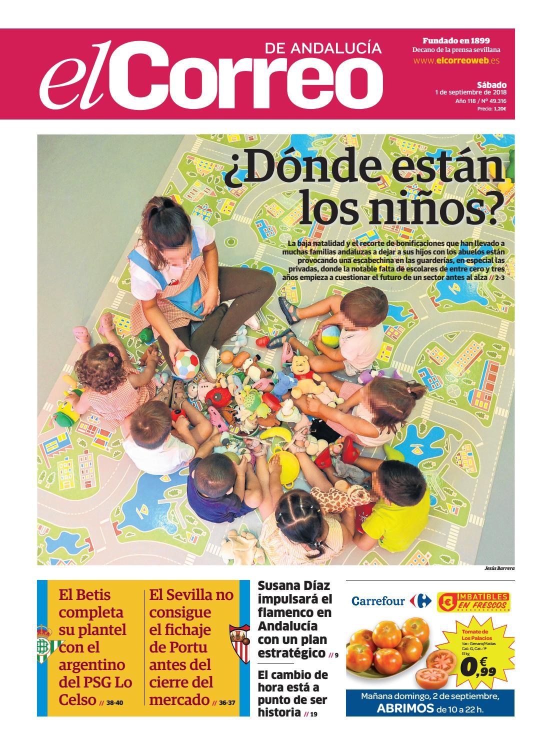01.09.2018 El Correo de Andalucía by EL CORREO DE ANDALUCÍA S.L. - issuu a155be91f73