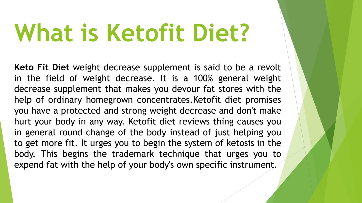 Keto Fit Reviews Weight Loss Diet Pills Uk By Ketofit Uk Issuu