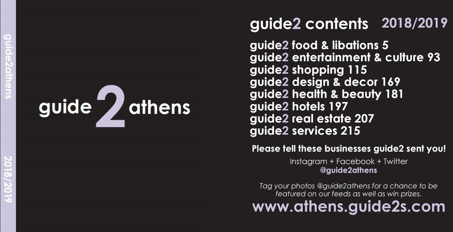 Guide 2 Athens 2018-19 by Vance Leavy - issuu
